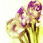 Elegant Flowers Art Print