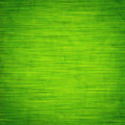 Elegant Green Abstract Background Art Print