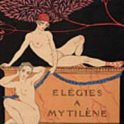Elegies A Mytilene Art Print