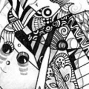 Elements At Play Art Print