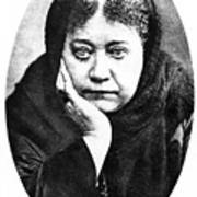 Elena Petrovna Blavatsky Art Print