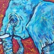 Elephant #4 Art Print