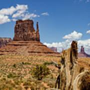 Elephant Butte - Monument Valley - Arizona Art Print