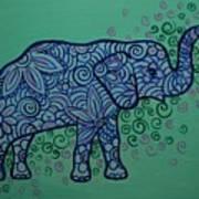 Elephant Dreams Art Print