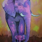 My Elephant   Art Print