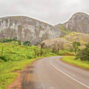 Elephant Rock, Malawi Art Print