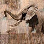Elephant Visions Wall Art Art Print