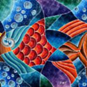 Eletric Fish Art Print