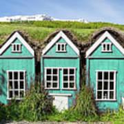Elf Houses Art Print