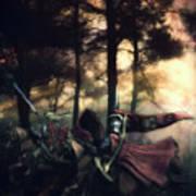 Elf Knights Art Print