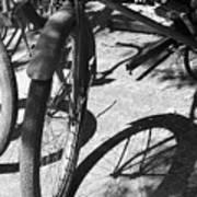 Elgin Bicycle Shadow Art Print