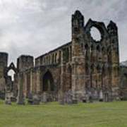 Elgin Cathedral - East View Art Print