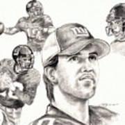 Eli Manning Art Print