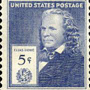 Elias Howe (1819-1867) Art Print