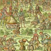 Elizabeth I, 1533-1603 Art Print