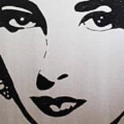 Elizabeth Taylor Diams Art Print