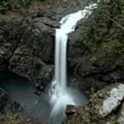 Elk Falls Provincial Park Waterfall Art Print