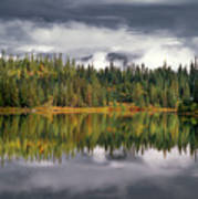 Elk Lake Art Print