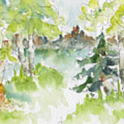 Elkridge Greens Art Print