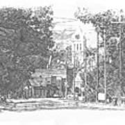 Ellaville, Ga - 1 Art Print