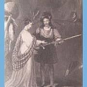 Ellen Douglas And Fitz James Art Print