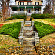 Ellicott City House Art Print