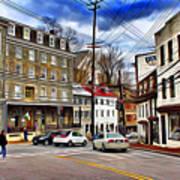 Ellicott City Streets Art Print
