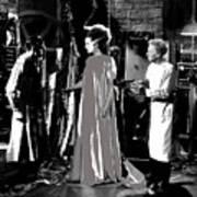 Elsa Lanchester Bride Of Frankenstein 4 1935-2015 Art Print
