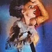 Elsa Lanchester, Bride Of Frankenstein Art Print