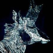Elusive Visions Antelope Buck Art Print