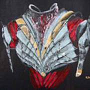 Elven Armor Art Print