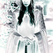 Elven Princess Art Print