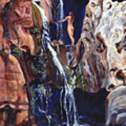 Elves Chasm Art Print