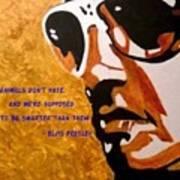 Elvis 01 Art Print