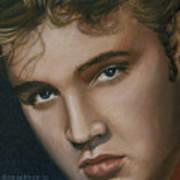 Elvis 24 1955 Art Print