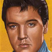 Elvis 24 1965 Art Print