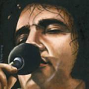Elvis 24 1972 Art Print
