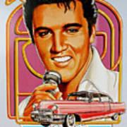 Elvis-an American Classic Art Print