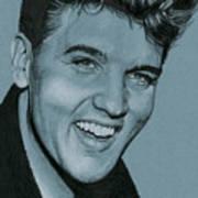 Elvis Is Back Art Print