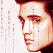Elvis Preslely Art Print