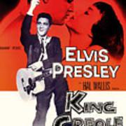 Elvis Presley In King Creole 1958 Art Print