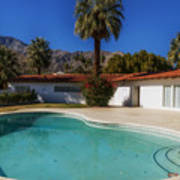 Elvis Presley's Palm Springs Home Art Print
