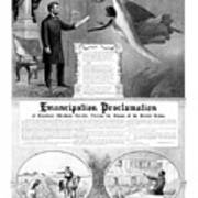 Emancipation Proclamation Art Print
