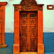 Embellished Puerta Art Print