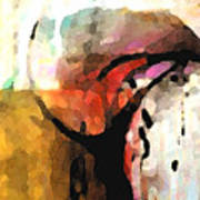 Embracing Secrets Panel One Of Two Art Print