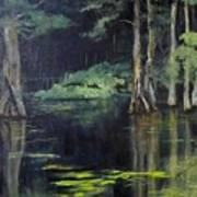 Emerald Bayou Art Print