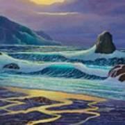 Emerald Cove Art Print