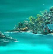 Emerald Isle 2 Art Print