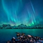 Emerald Sky Art Print
