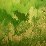 Emerald Valley Wip 2 Art Print